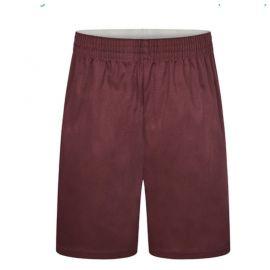 Maroon Sports Shorts