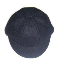 Boys Navy Wool Cap